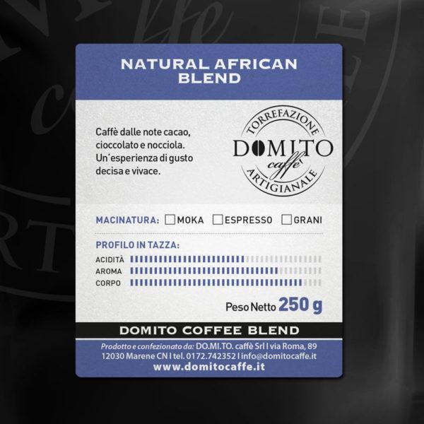 etichetta domito african blend